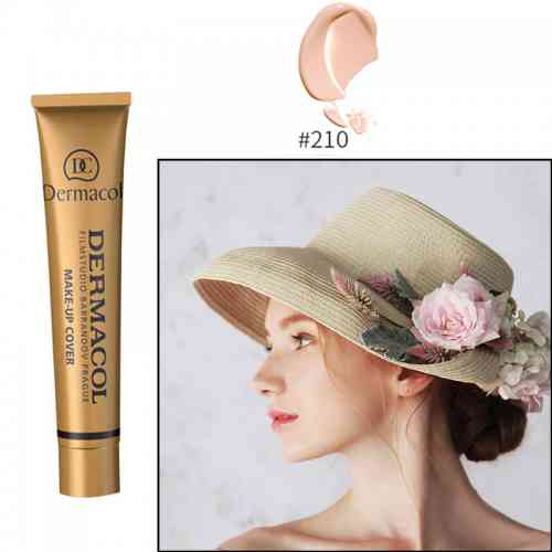 210 e1521805525302 - Dermacol Make-Up Cover Foundation 30g