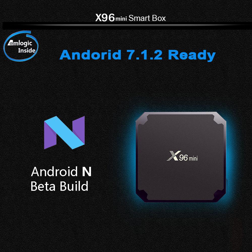 X96 MINI TV BOX 2GB 16GB 4 - X96 Mini Android 7.1 Smart TV BOX 2GB RAM 16GB ROM Quad Core 2.4GHz