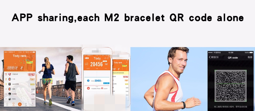 M2 Smart Fitness Band 17