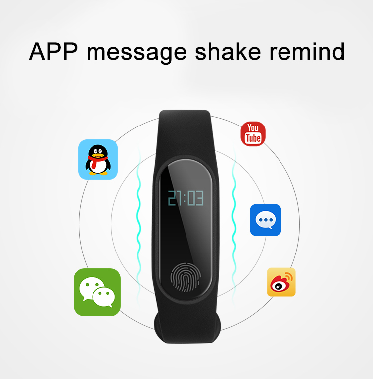 M2 Smart Fitness Band 11