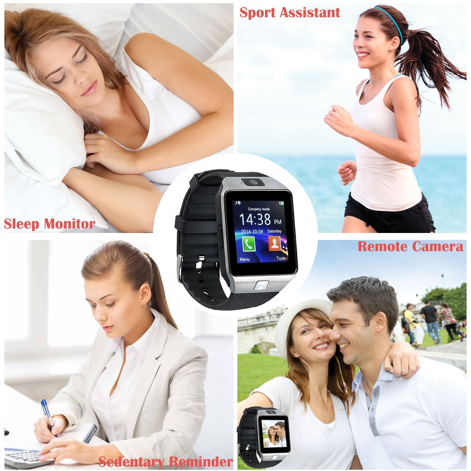 81z9bedsyfL. SL1500  - Smart Watch DZ09 For Android Devices