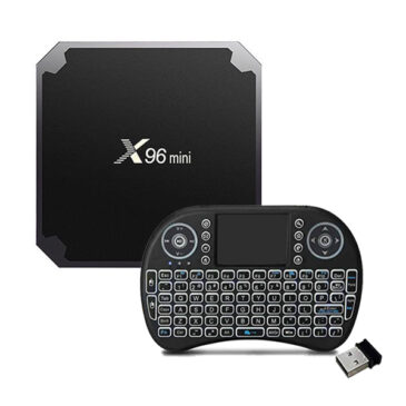 X96 Mini Android 7.1 Smart TV With Mini Wireless Keyboard