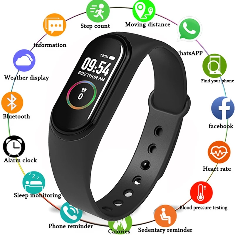 639719795 1411200223 - M4 Smart Fitness Band