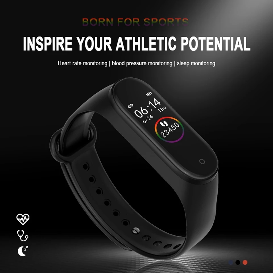 M4 Smart Fitness Band 6