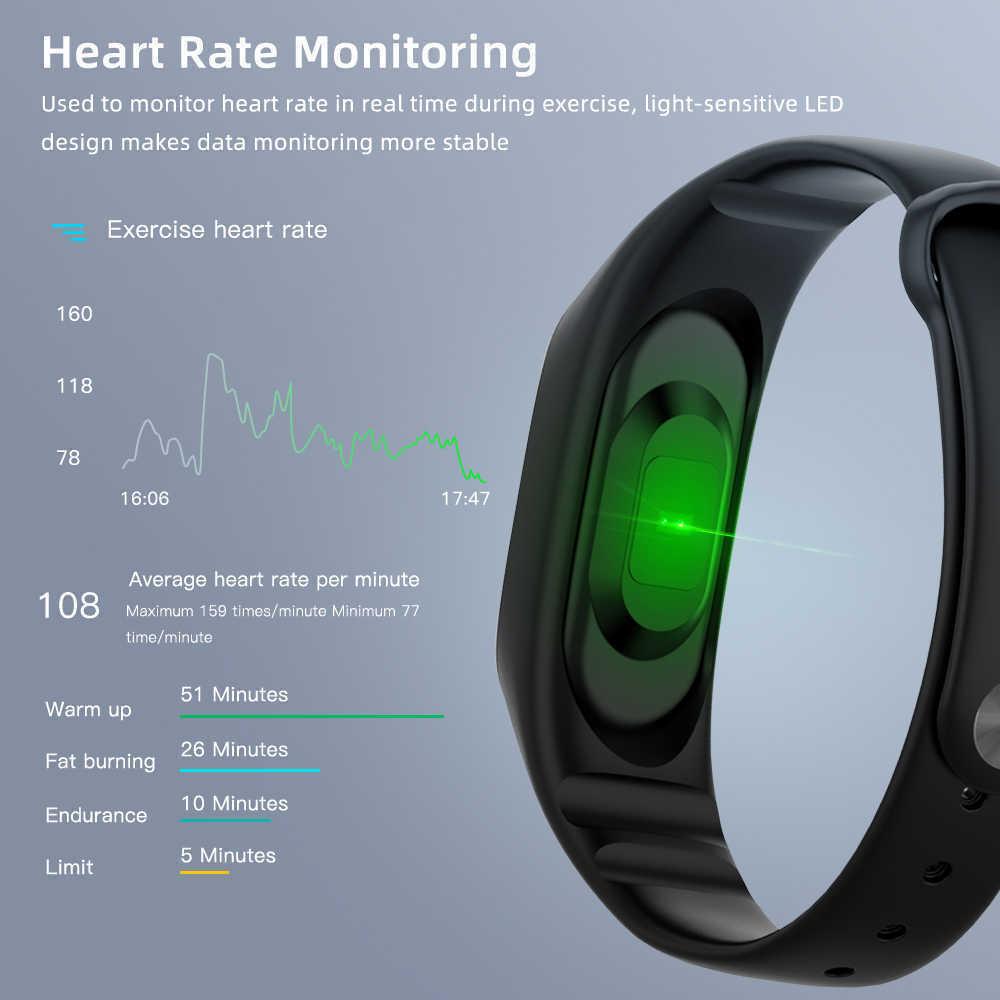 M4 Smart band Fitness Tracker Watch Sport bracelet Heart Rate Blood Pressure Smartband Monitor Health Wristband.jpg q50 1 - M5 Smart Fitness Band