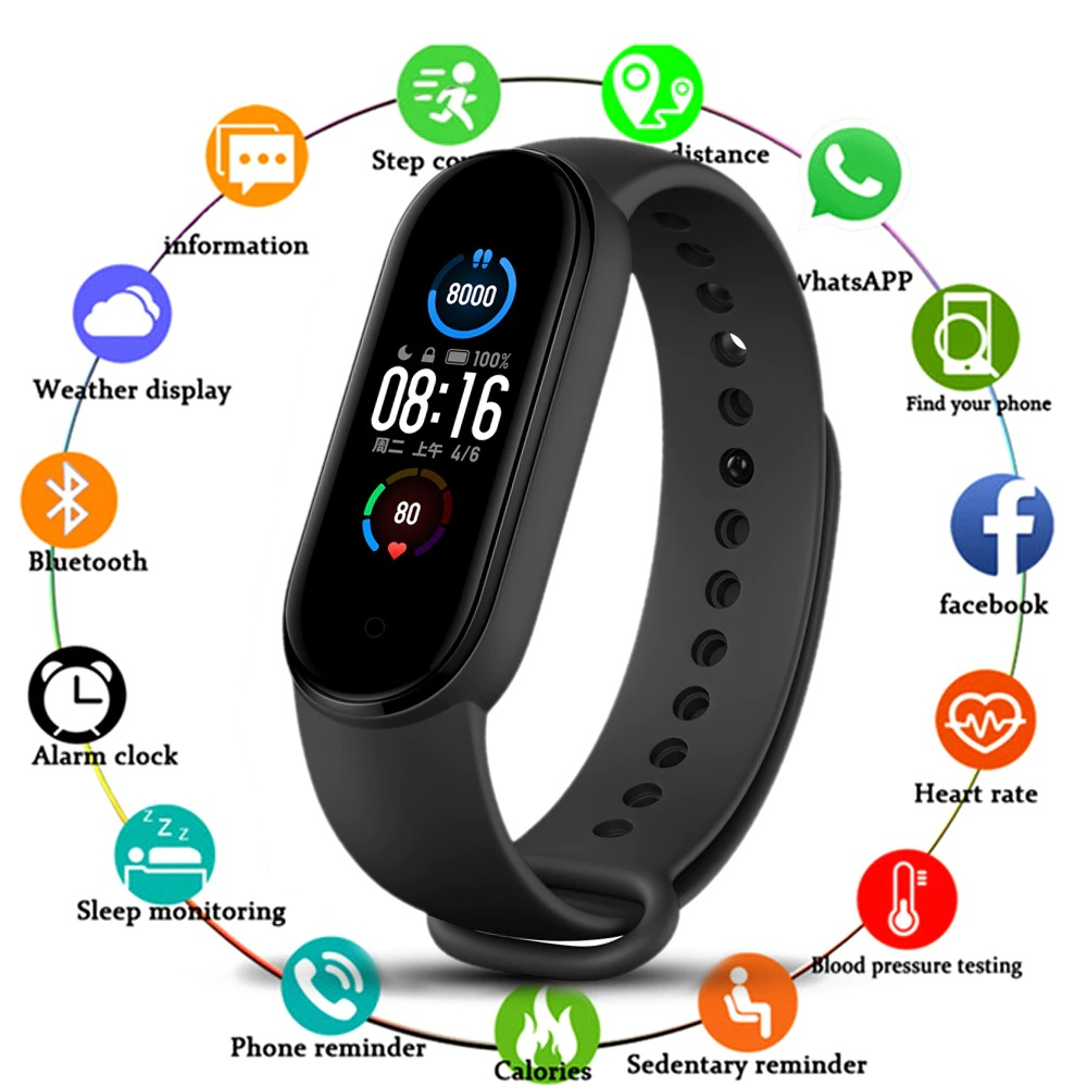 M5 Smart Fitness Band Online in Pakistan