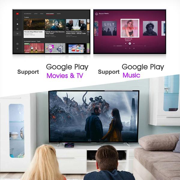 H96 Max Android 9.0 Smart TV BOX 4GB RAM 32GB/64GB ROM RK3318 Quad-Core 64bit Cortex-A53 2