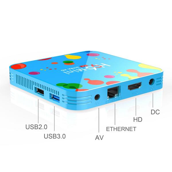 H96 Mini Android 9.0 Smart TV BOX 4GB RAM 32GB ROM 6K 3