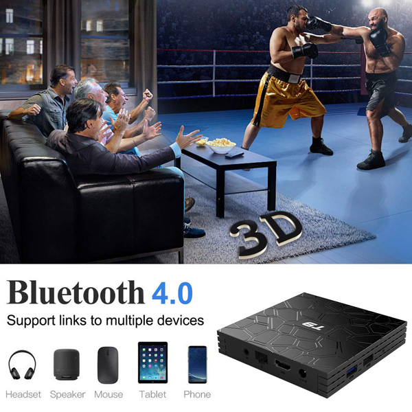 T9 Android 9.0 Smart TV BOX With Mini Wireless Keyboard 5