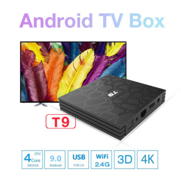 T9 tv box7 365x365 - T9 Android 9.0 Smart TV BOX With Mini Wireless Keyboard