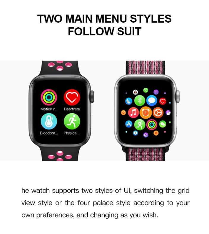 T500 Smart Watch Series 5 (BLACK) 6