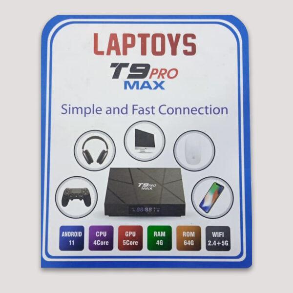 T9 Pro max tv box in pakistan